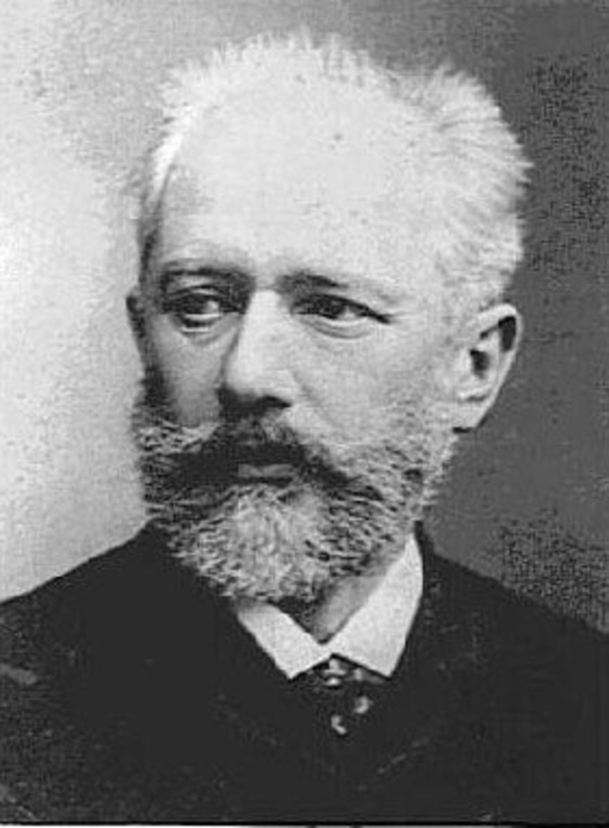 Photograph of Tchikovsky c1875.