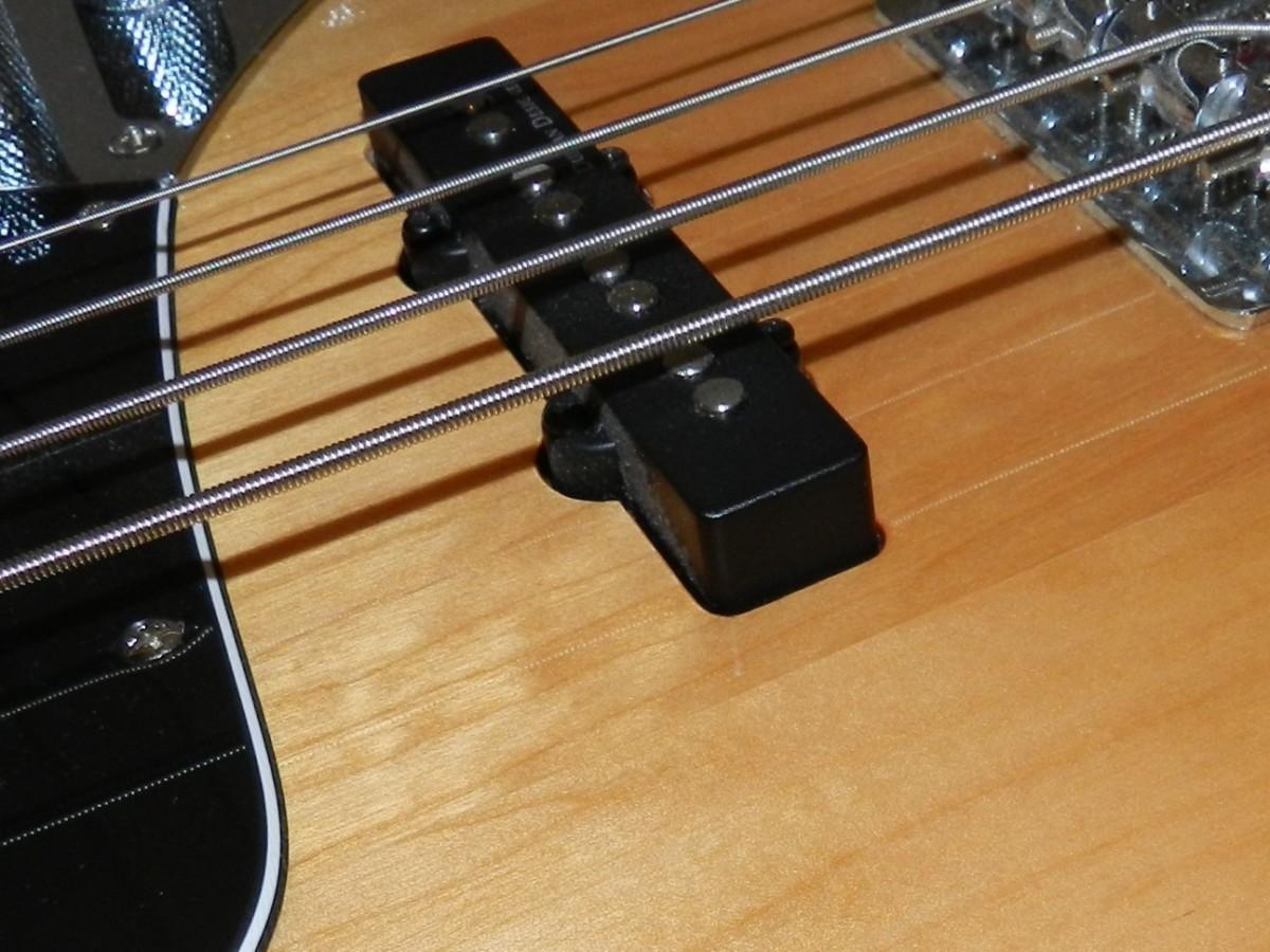 Single-coil Jazz Bass Pickup