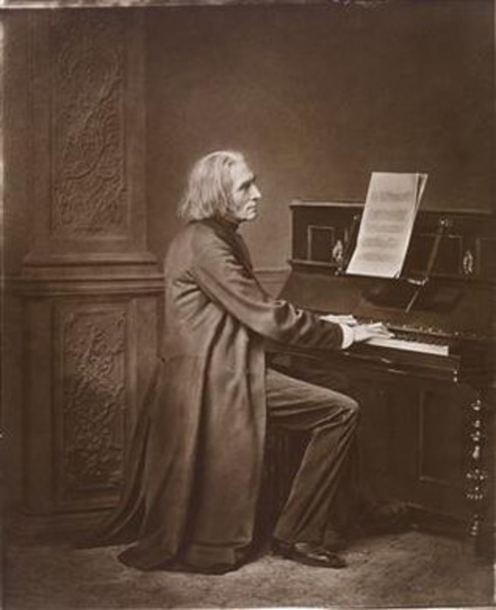 Photograph of Liszt c1869.