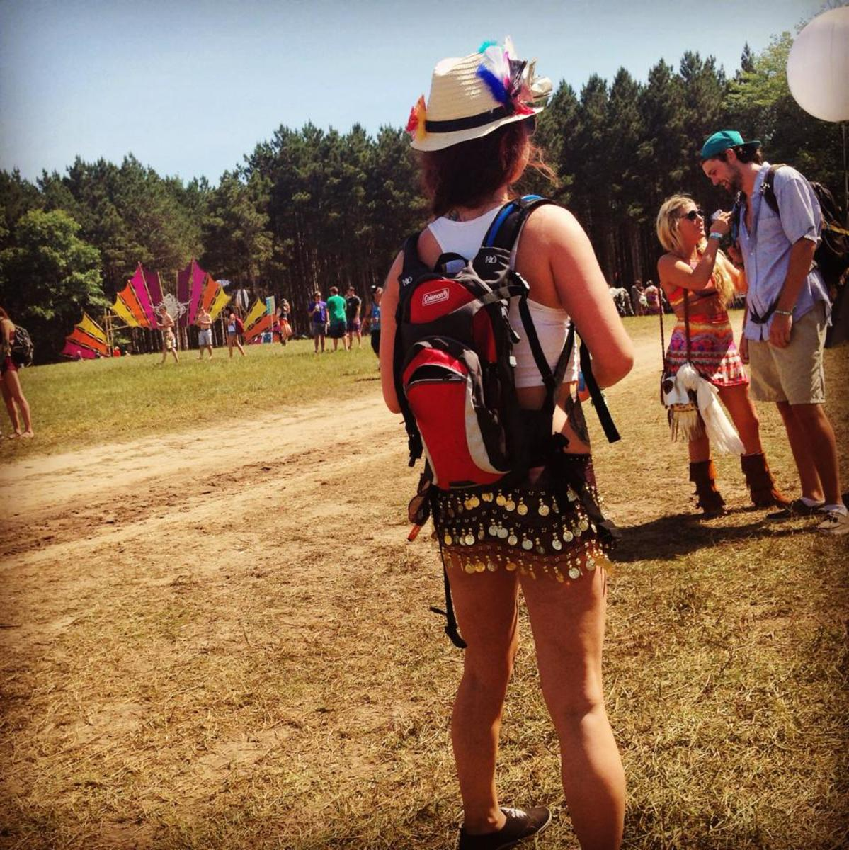 Electric Forest Festival, 2014.