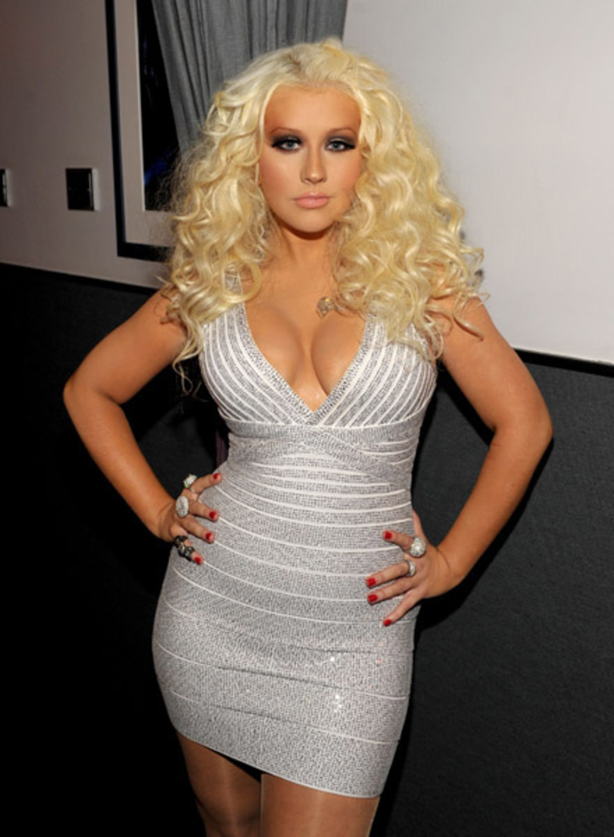 Aguilera at a 2012 event.
