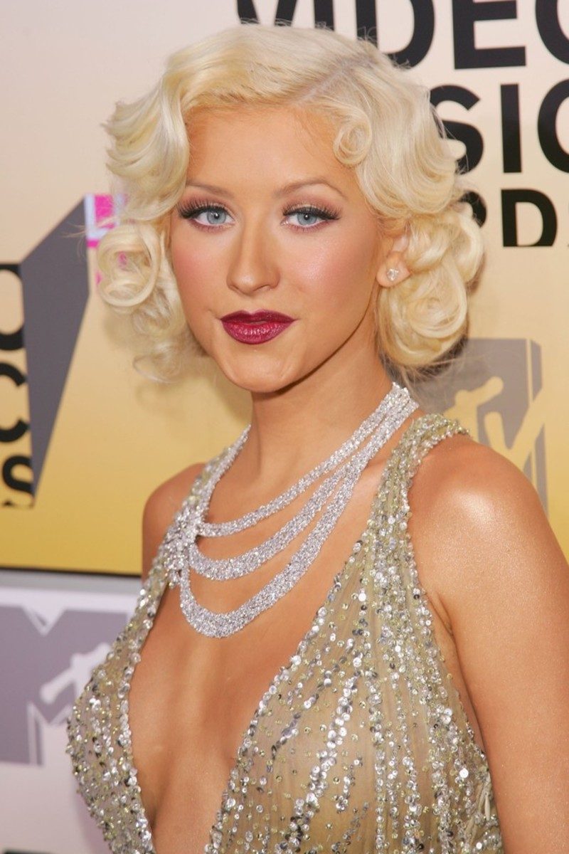 Aguilera the 2006 MTV Video Music Awards.
