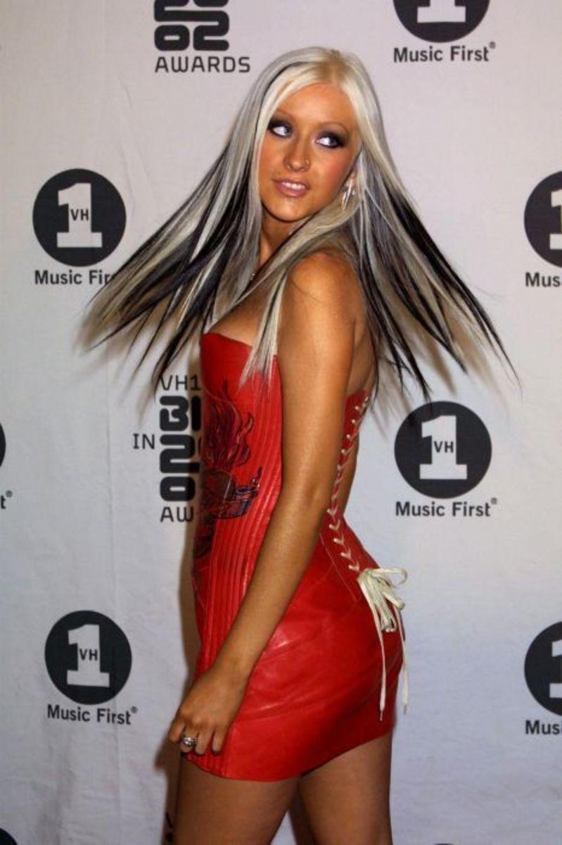 Christina at the VH1 Big 02 Awards.