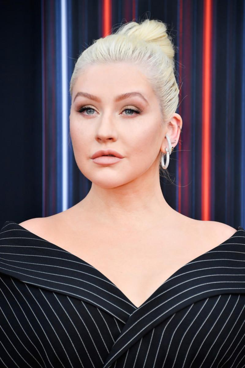 Christina at the 2018 Billboard Music Awards.