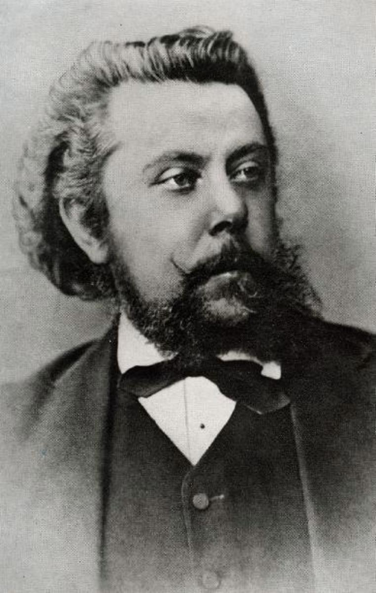 Mussorgsky in 1874, the year of Pictures At An Exhbition.