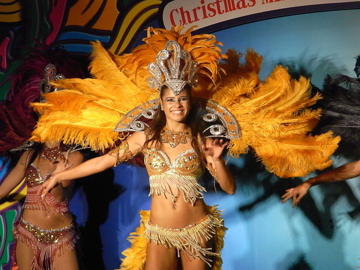 Samba songs and dance performances are not limited to Carnival season