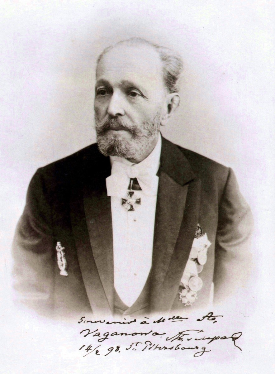 Photograph of Petipa in 1898.