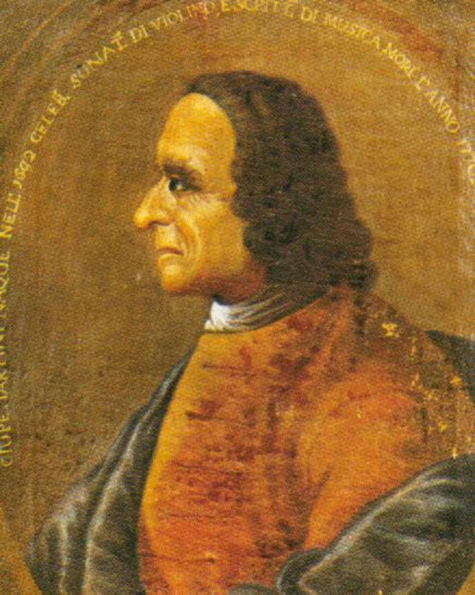 Oil painting of Tartini, date unknown.