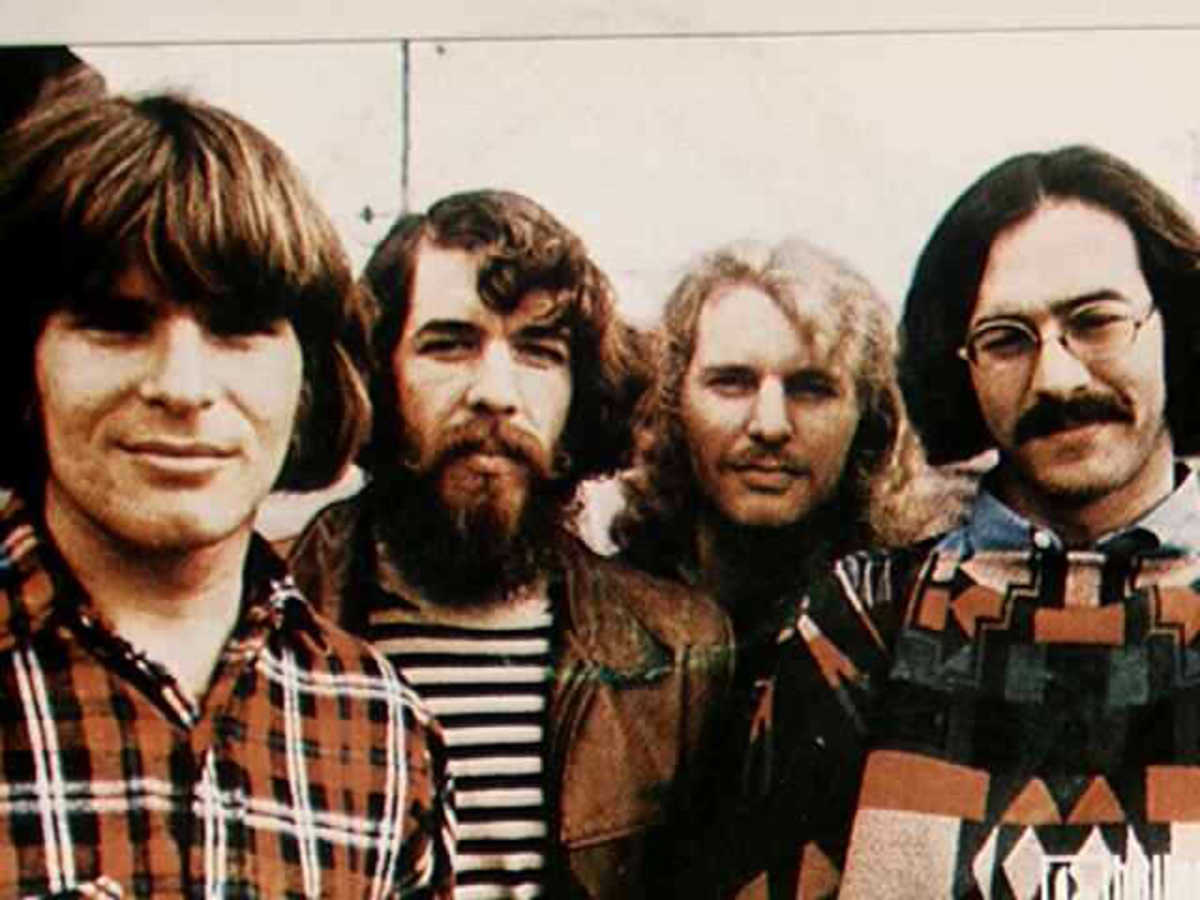John Fogerty, Doug Clifford, Tom Fogerty, and Stu Cook.