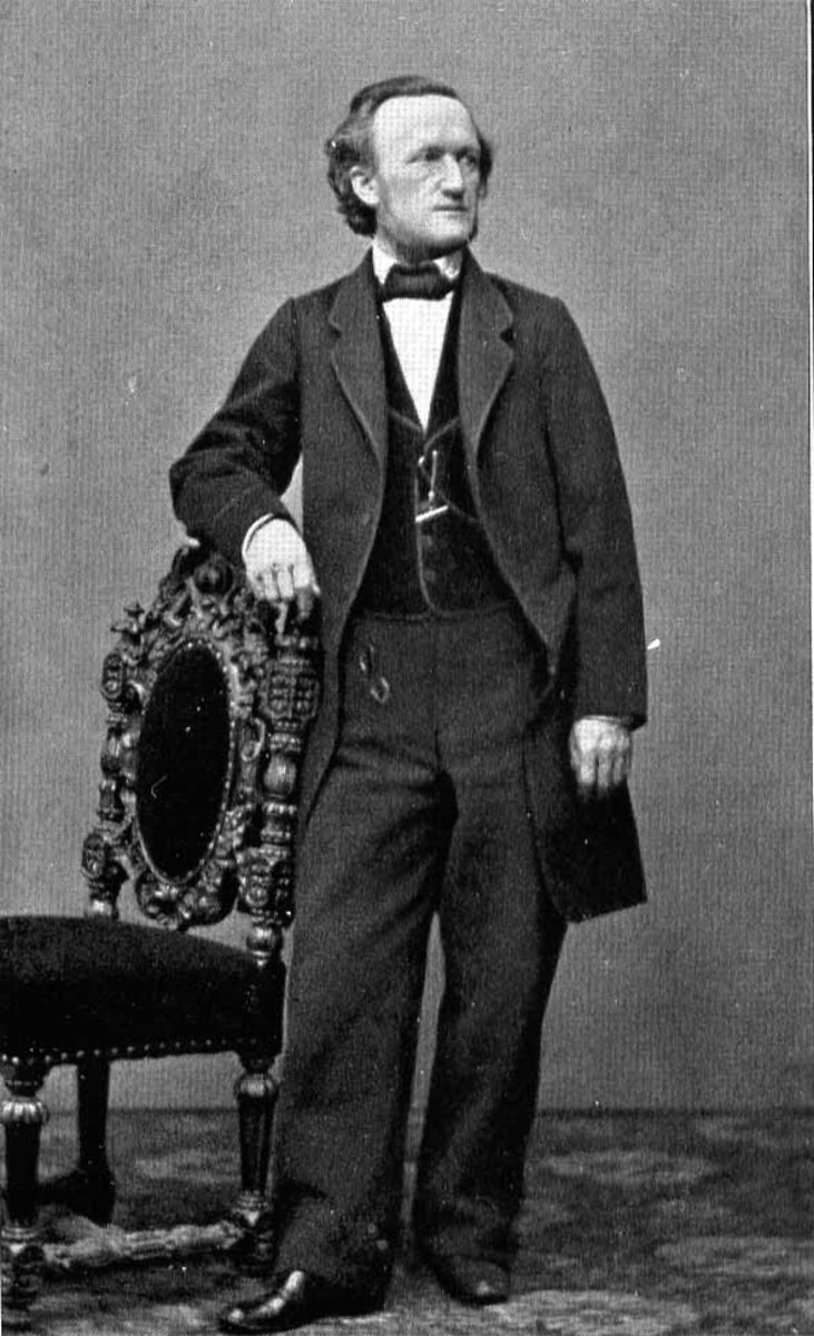 Photograph of Wagner in 1864.