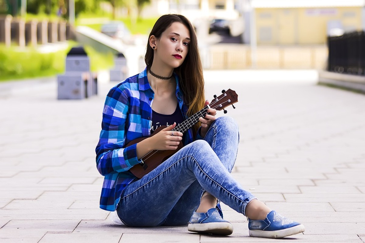 Ukuleles are so portable, you can play them anywhere!