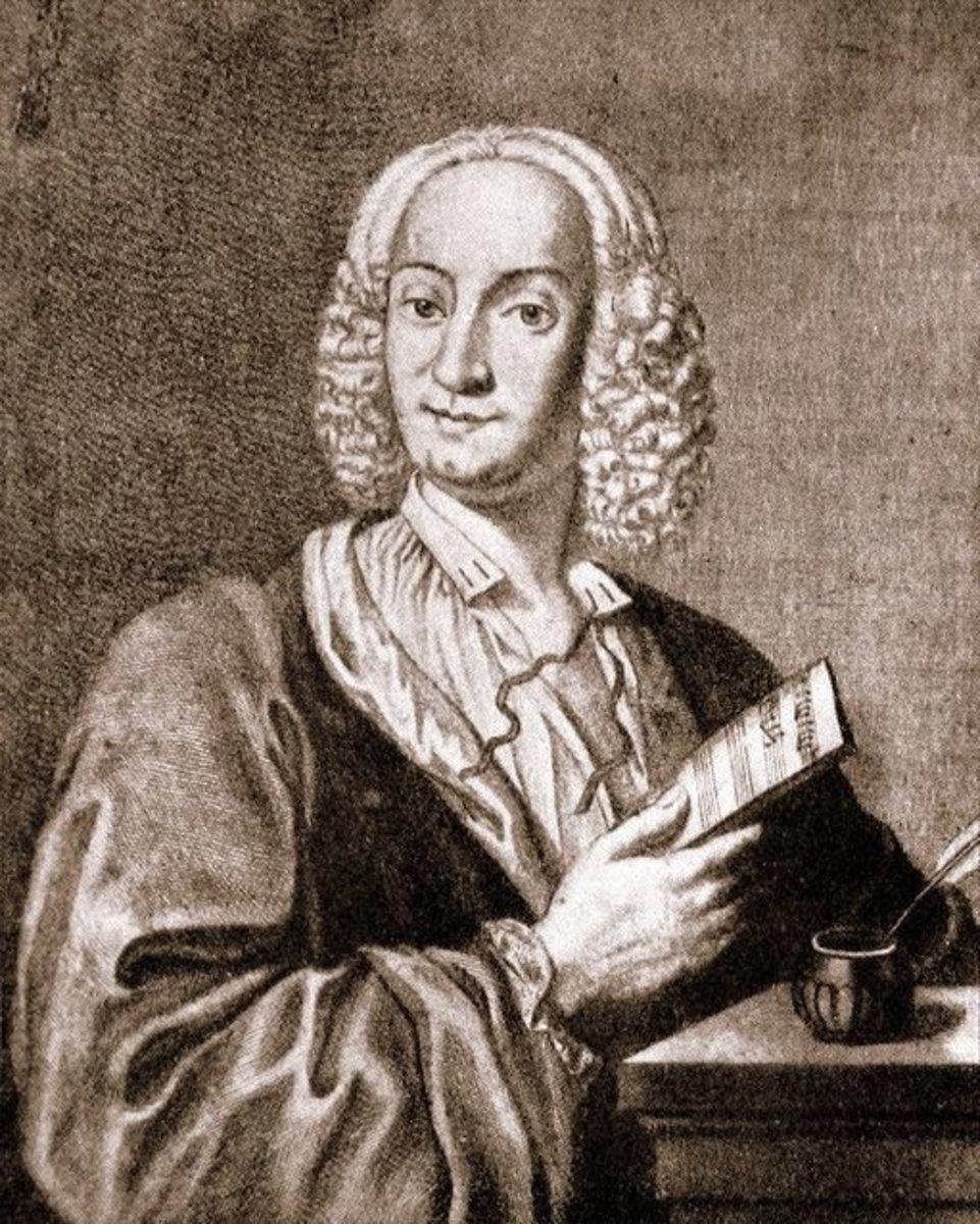 Engraving of Antonio Vivaldi (1678-1741), 1725