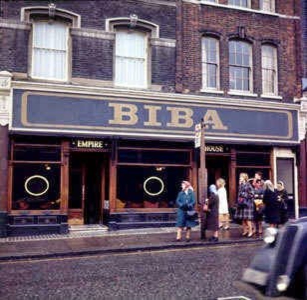 Rock and roll history was made at Biba -- it's where Mary and Freddie met.