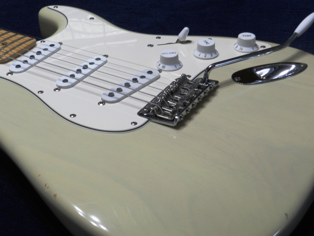 The Fender Stratocaster is a classic rock guitar.
