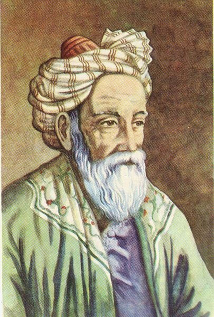 "Omar Khayyam, author of the ""Rubaiyat"""