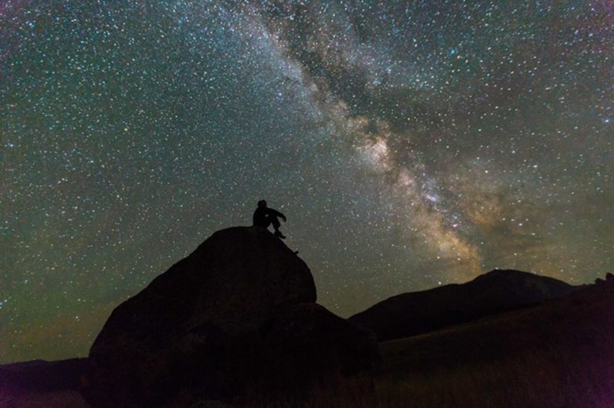 The Milky Way is sometimes viewed as a metaphor for soul travel after death.
