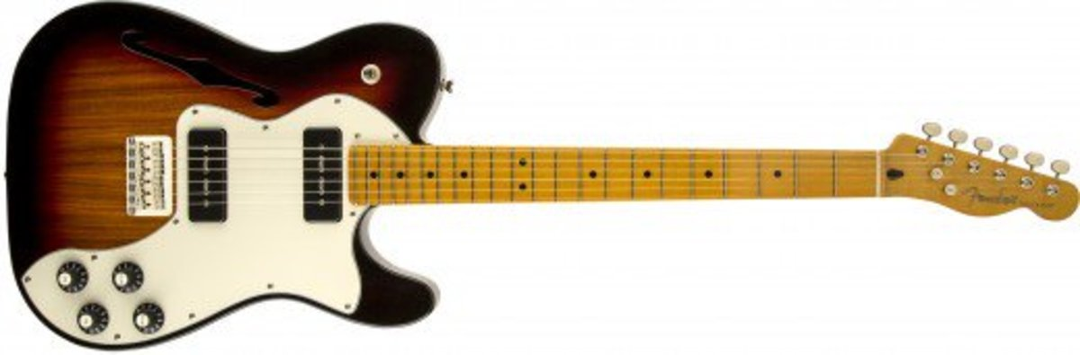 Modern Player Telecaster Thinline Deluxe - 3-Color Sunburst