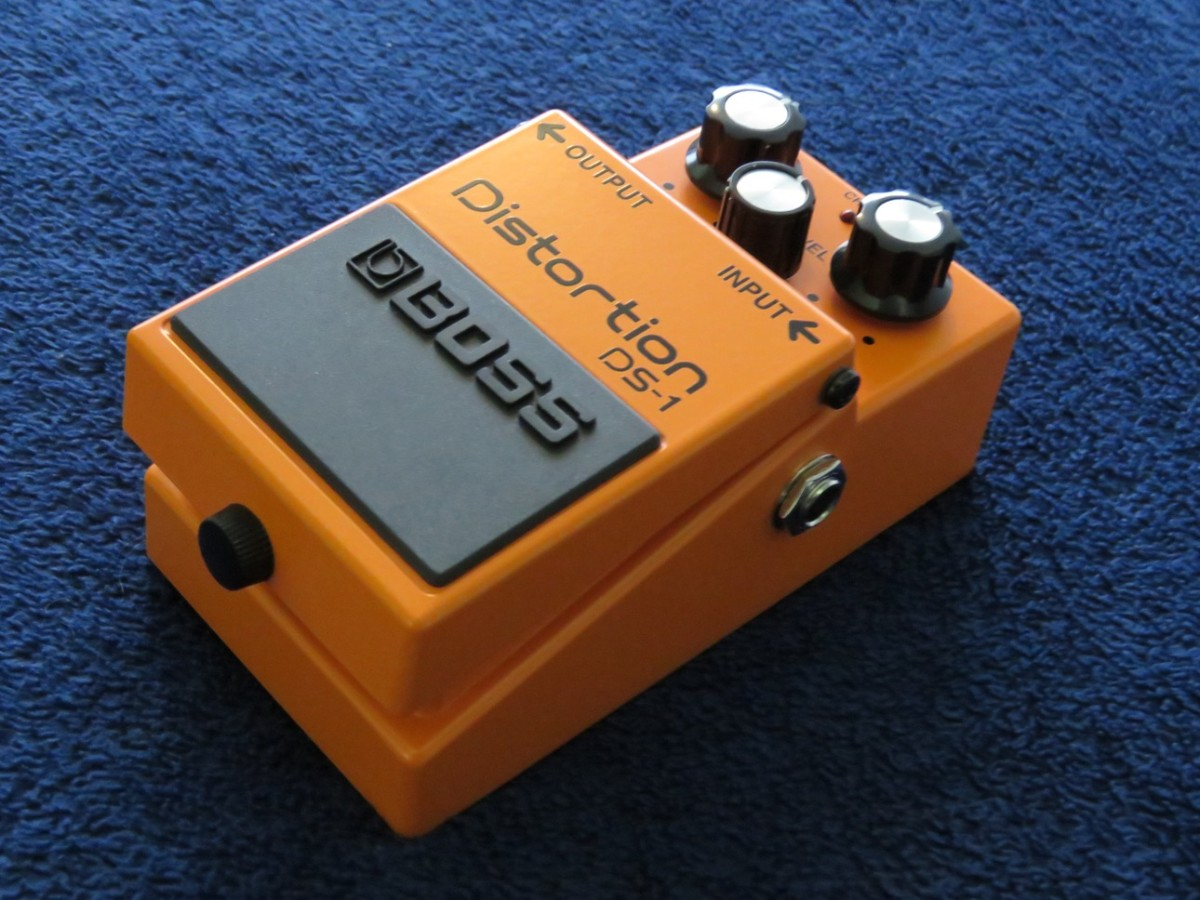 BOSS Pedals are typically rugged and sturdy and the DS-1 is no exception.