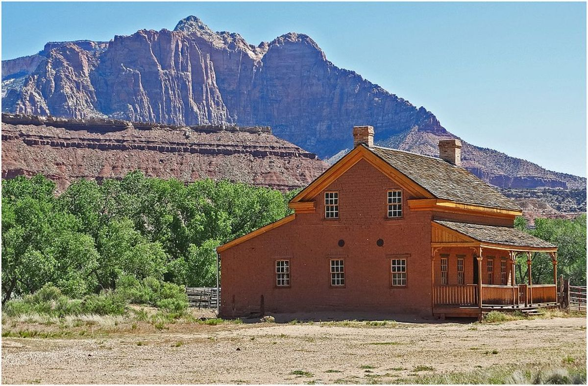 This Utah Ghost Town Building was used as a set in Butch Cassidy and the Sundance Kid