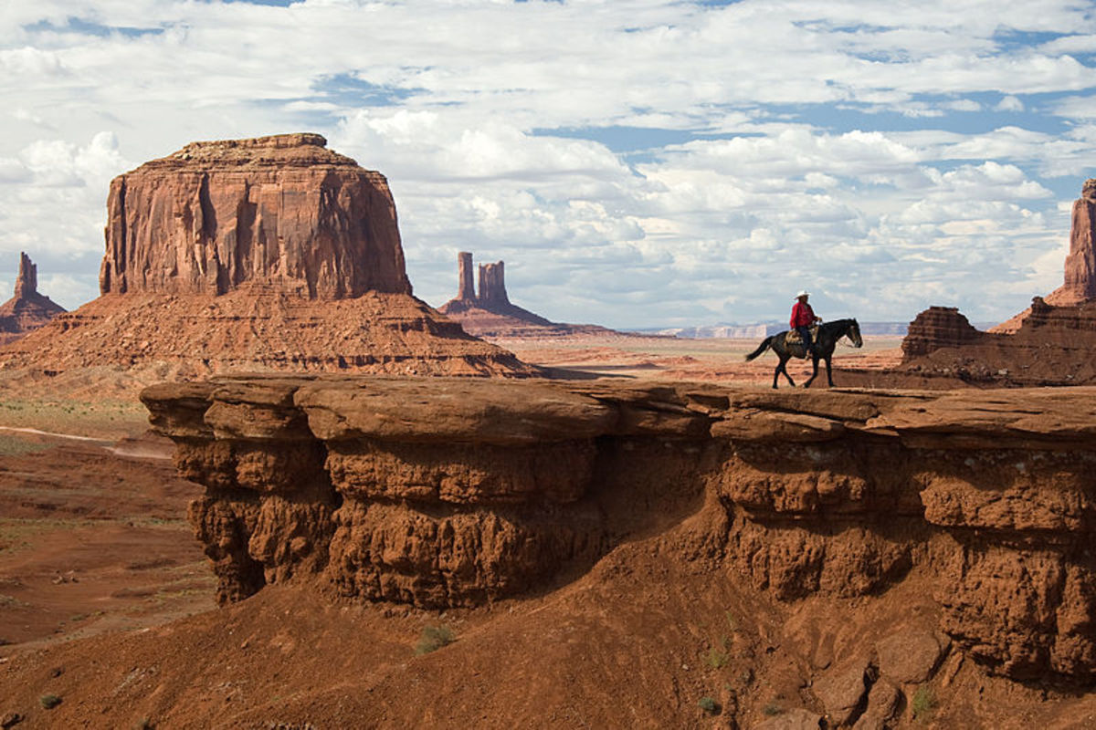 Monument Valley in the Four Corners region is a popular park that is owned and managed by the Navajo Nation.