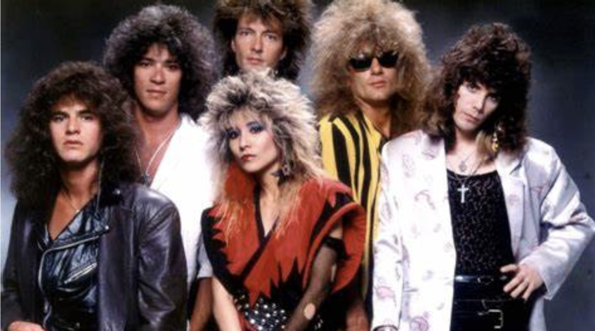 Steffanie (Pictured with her touring band.)
