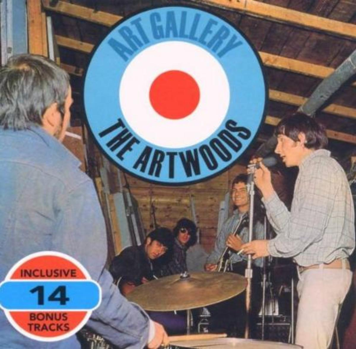 "Photo of Artwoods LP ""Art Gallery"""