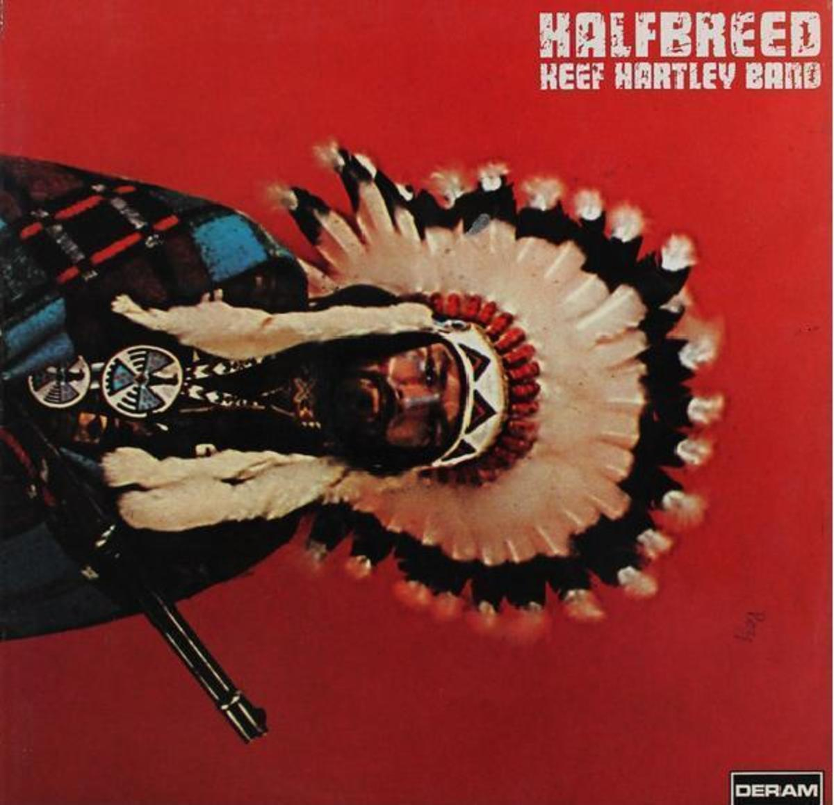 "Photo of Keef Hartley's debut LP ""Halfbreed"""
