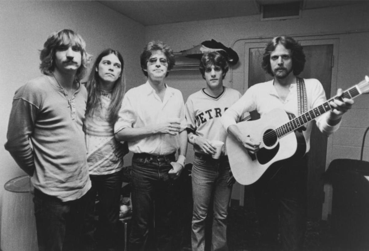 Joe Walsh, Timothy B. Schmit, Don Henley, Grenn Frey, and Don Felder.