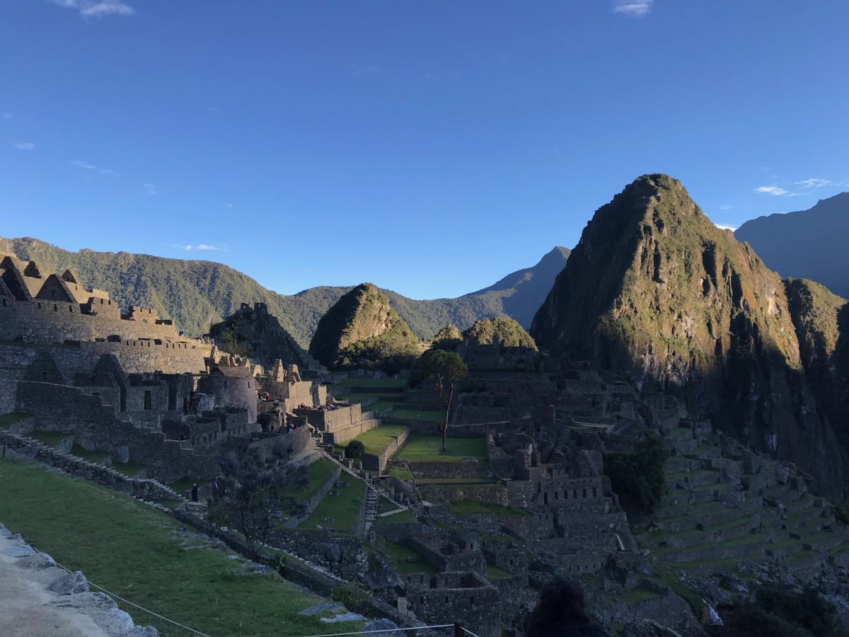 My family and I visited Machu Picchu and other Peruvian locations in 2018.  How did they build a stone city on a mountaintop?  Total miracle.