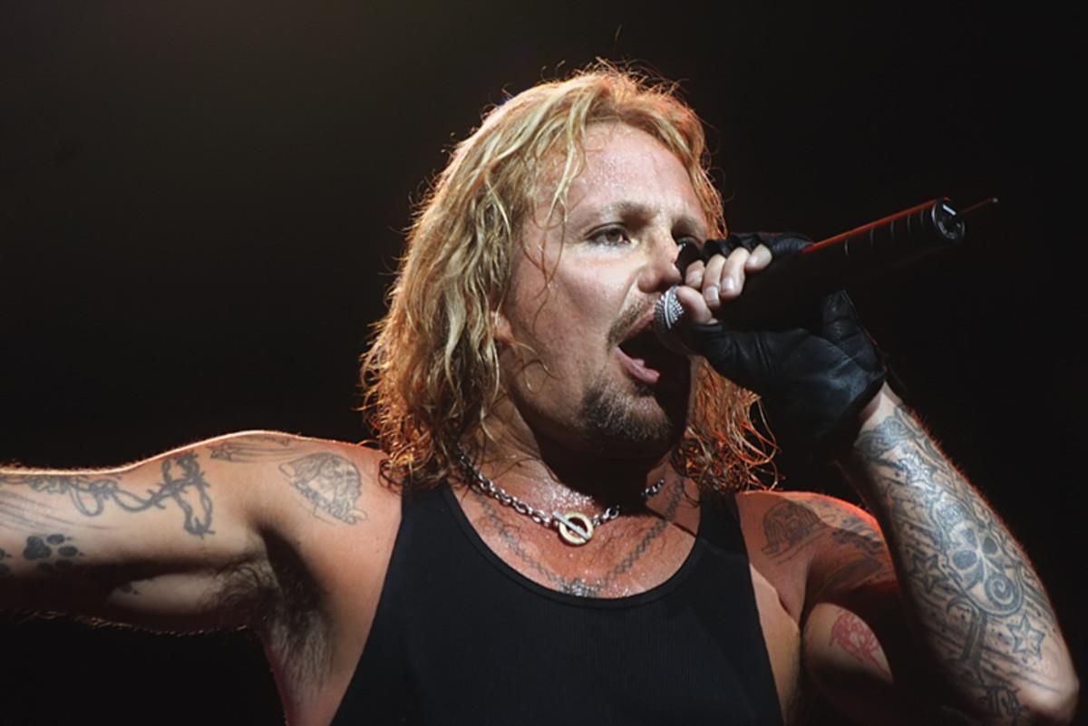 Vocalist Vince Neil