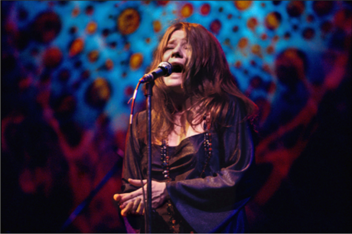 Janis performing in New York City on April 18, 1969.