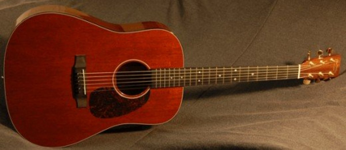 Another shot of a Martin D-17m.