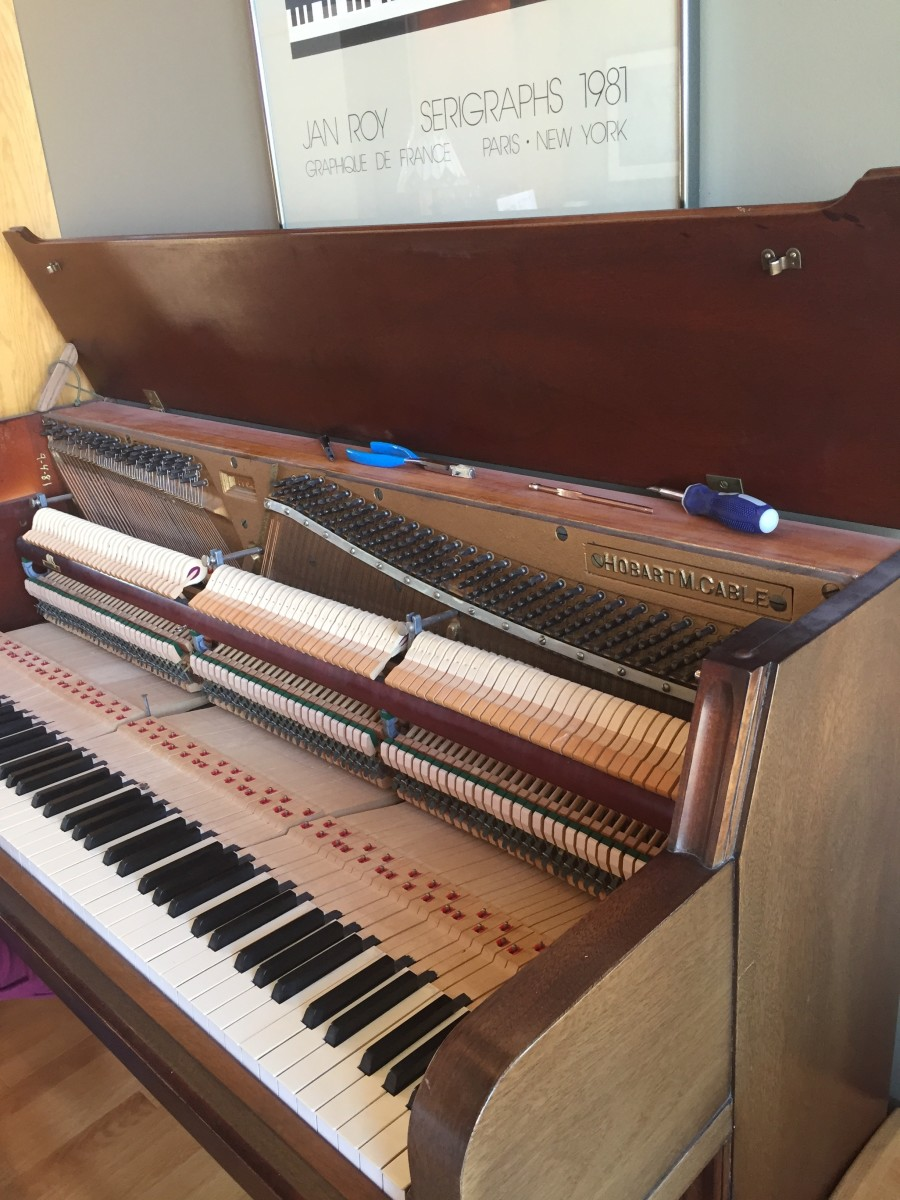 What Techniques and Skills to Expect When a Piano Is Tuned by a Professional. This Example is in Missouri.