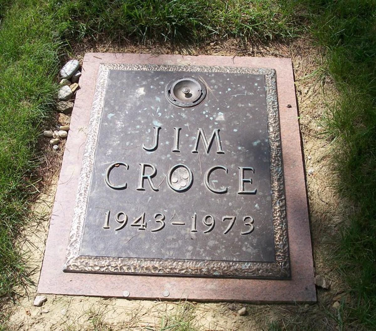 Jim Croce grave marker