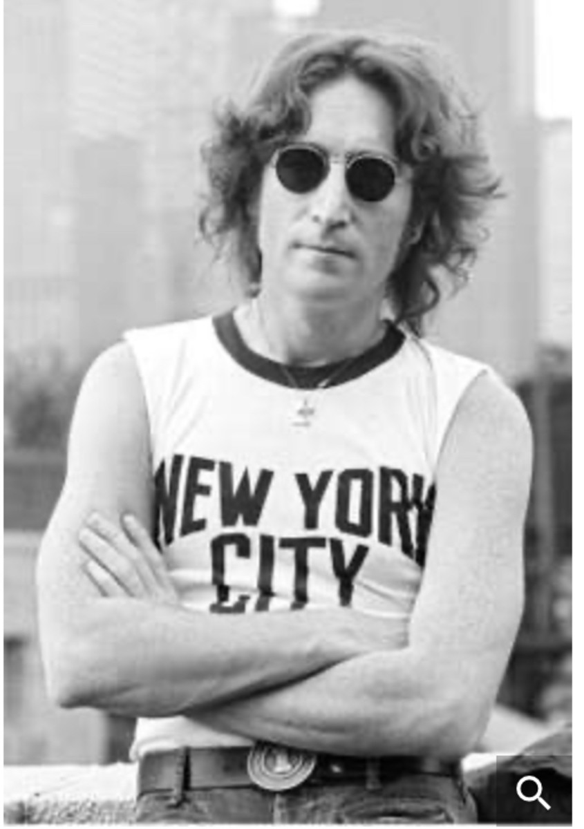 John Lennon in the early 1970s