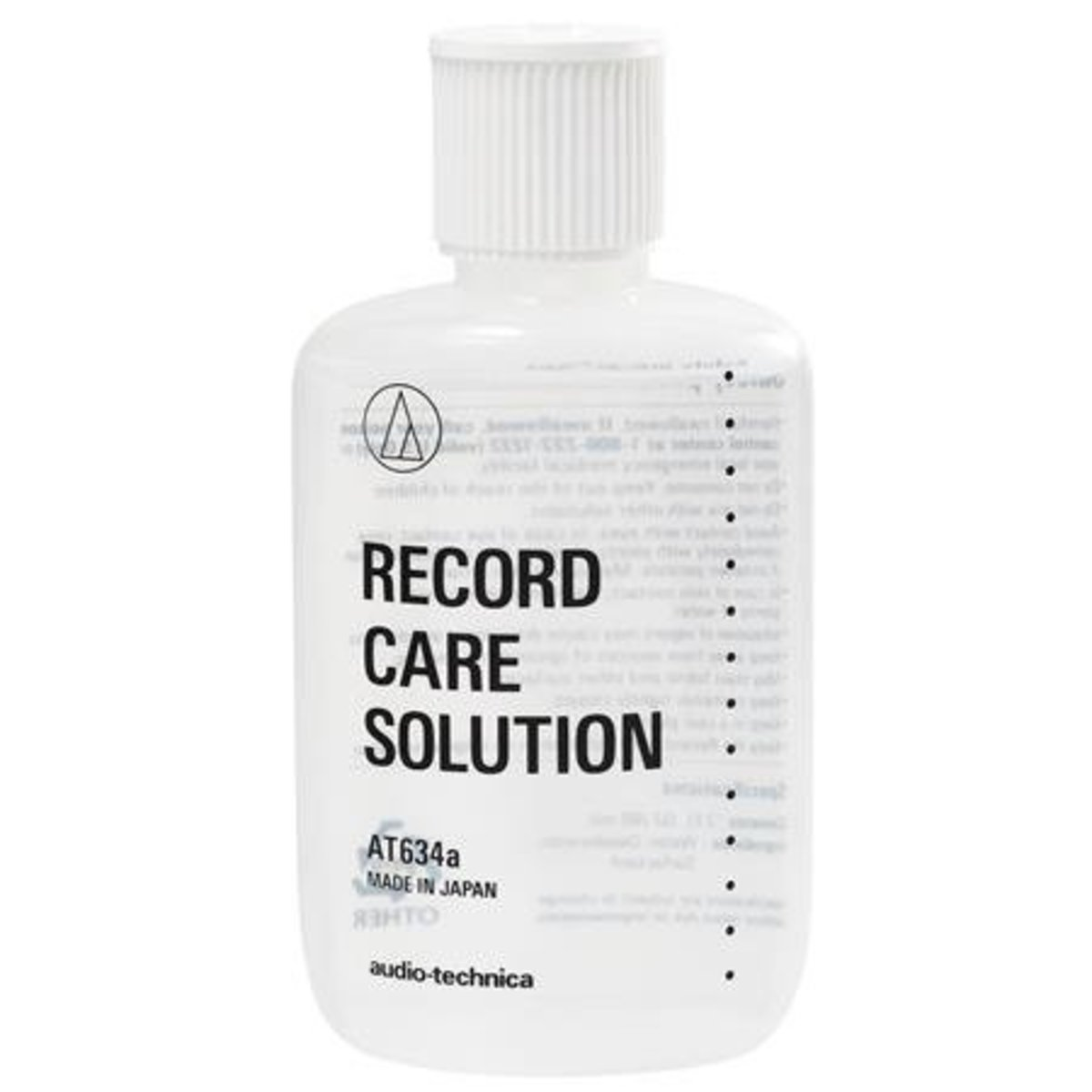 Record cleaning solution keeps your records in good shape and gets the tougher pieces of dirt and dust off of the record.