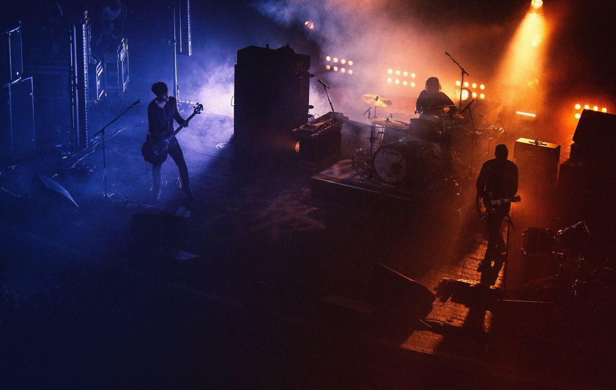Audiences love the high energy in rock songs.