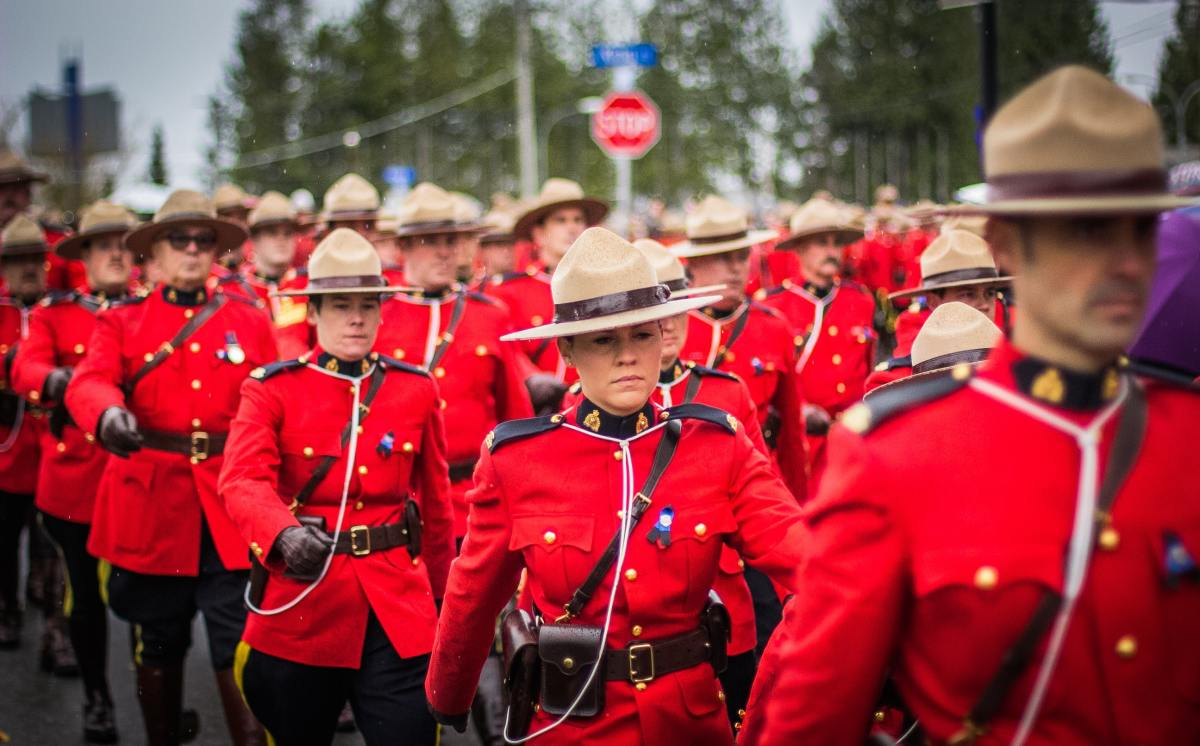 The Royal Canadian Mounted Police is the federal and national police service of Canada. It provides federal-level law enforcement and policing in eight of Canada's provinces.