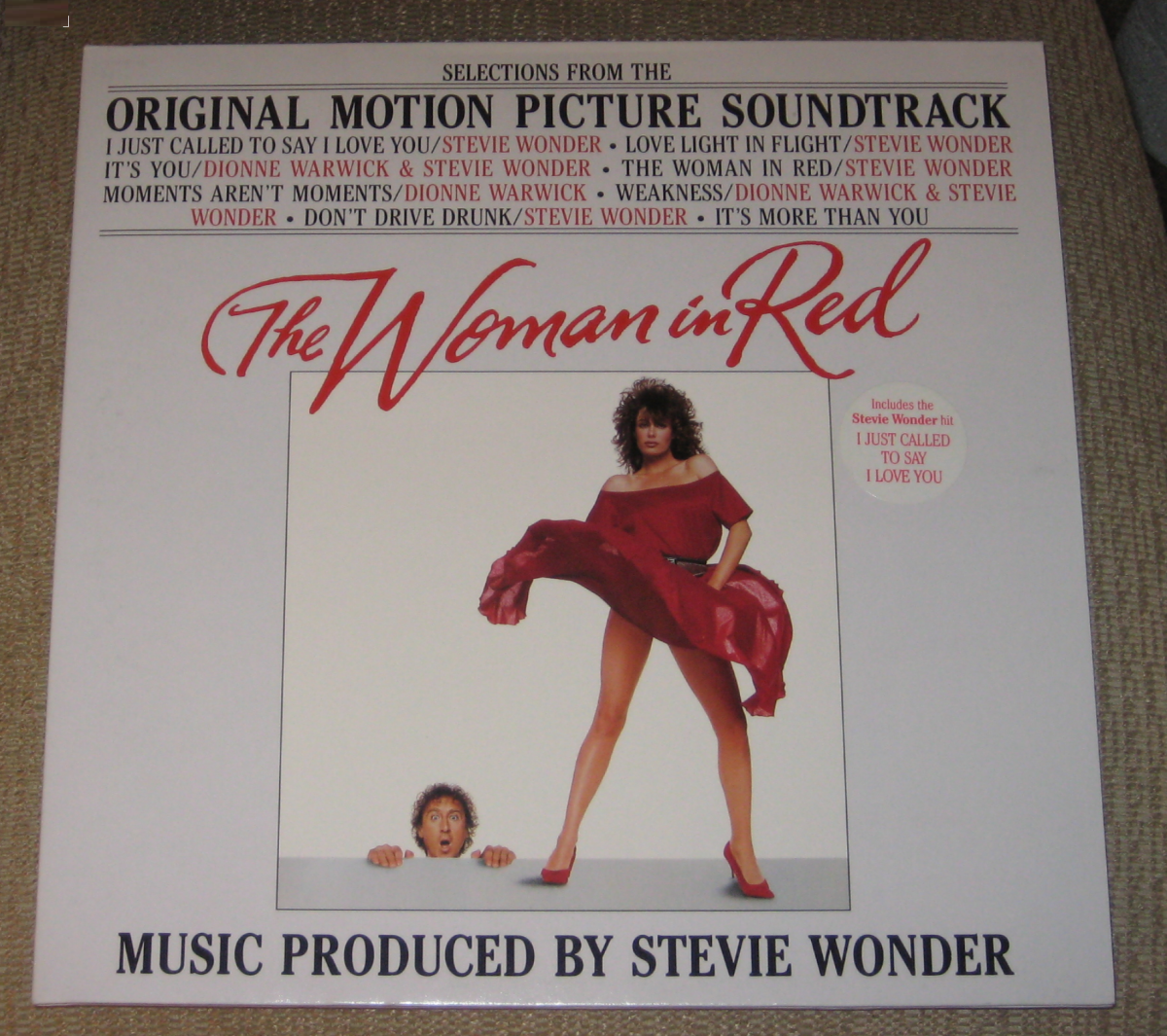 """The Woman in Red"" soundtrack album"