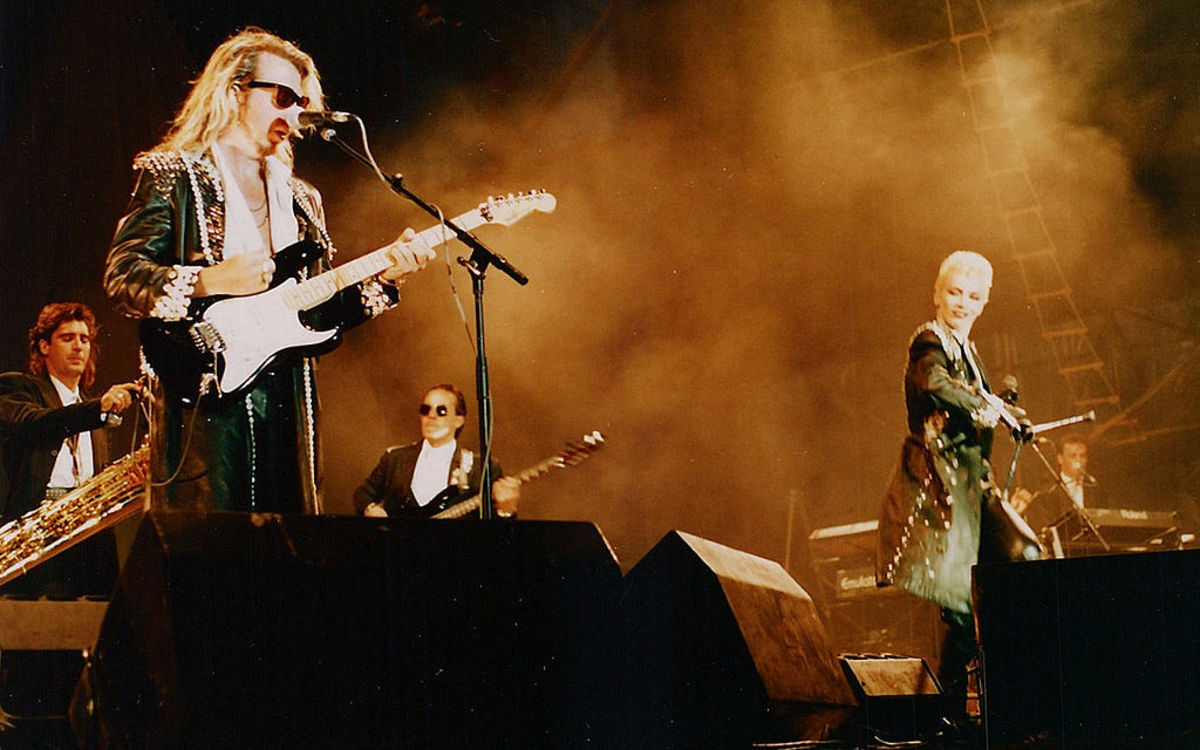 Eurythmics at Rock am Ring, Revenge tour, 1987