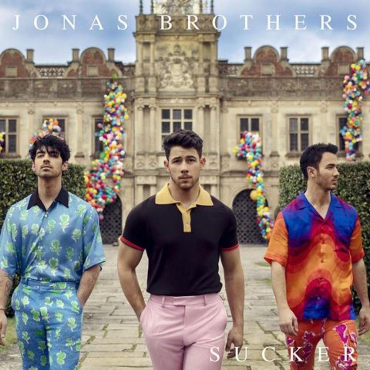 "Jonas Brothers—""Sucker"" album cover"