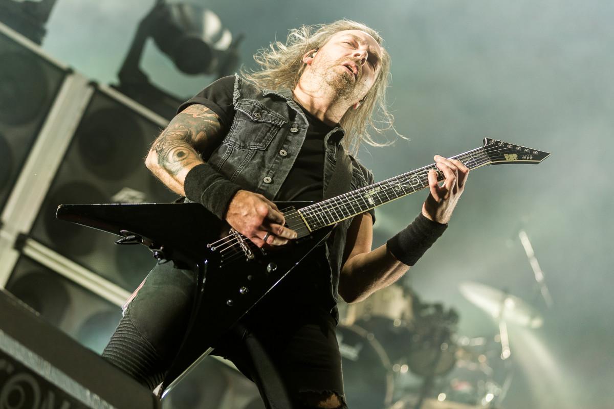 Metalcore guitarists love expensive guitars.