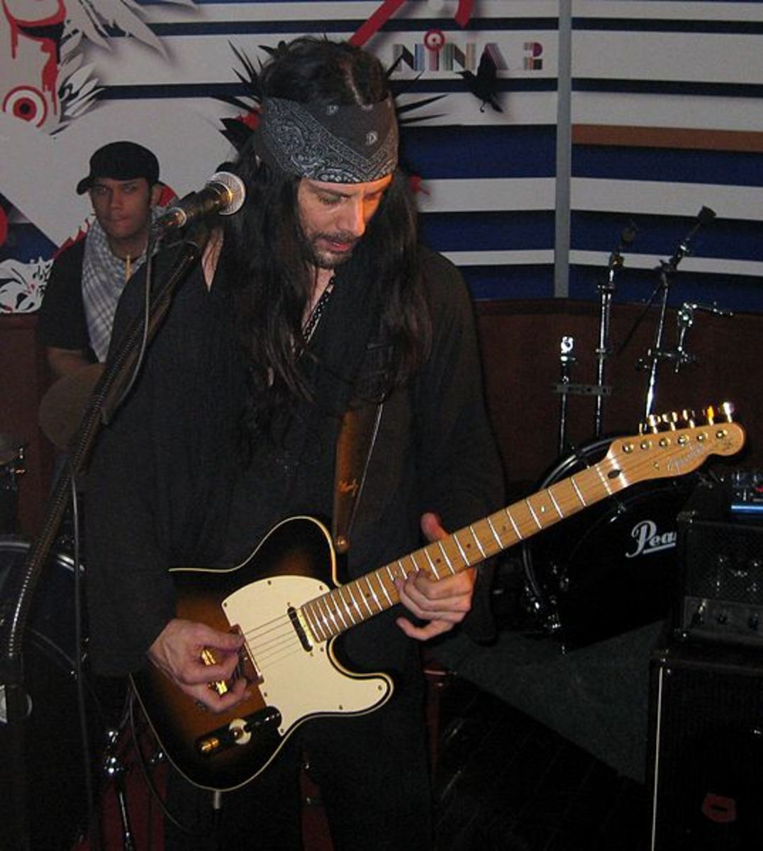 Richie Kotzen and the Fender Telecaster