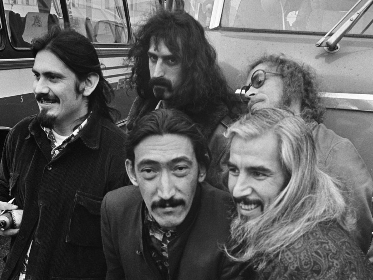 Frank Zappa and his band.