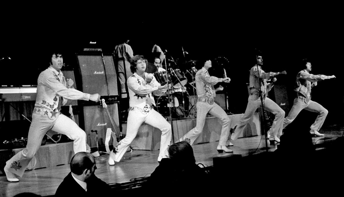 The origins of boy bands date back to the late '60s.