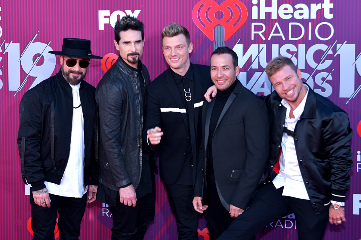 Boy bands often sign contracts with major corporations.