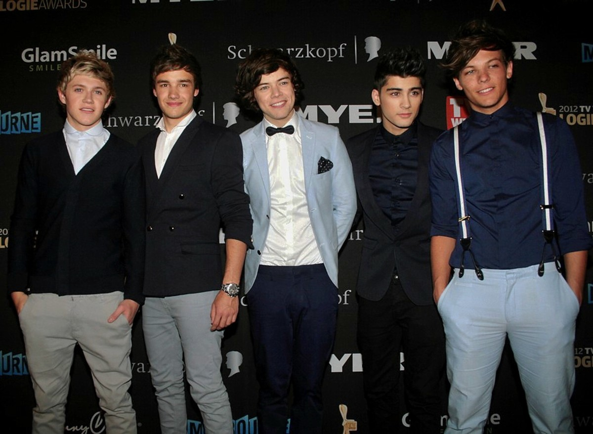Boy bands tend to emphasize beauty and high-style.