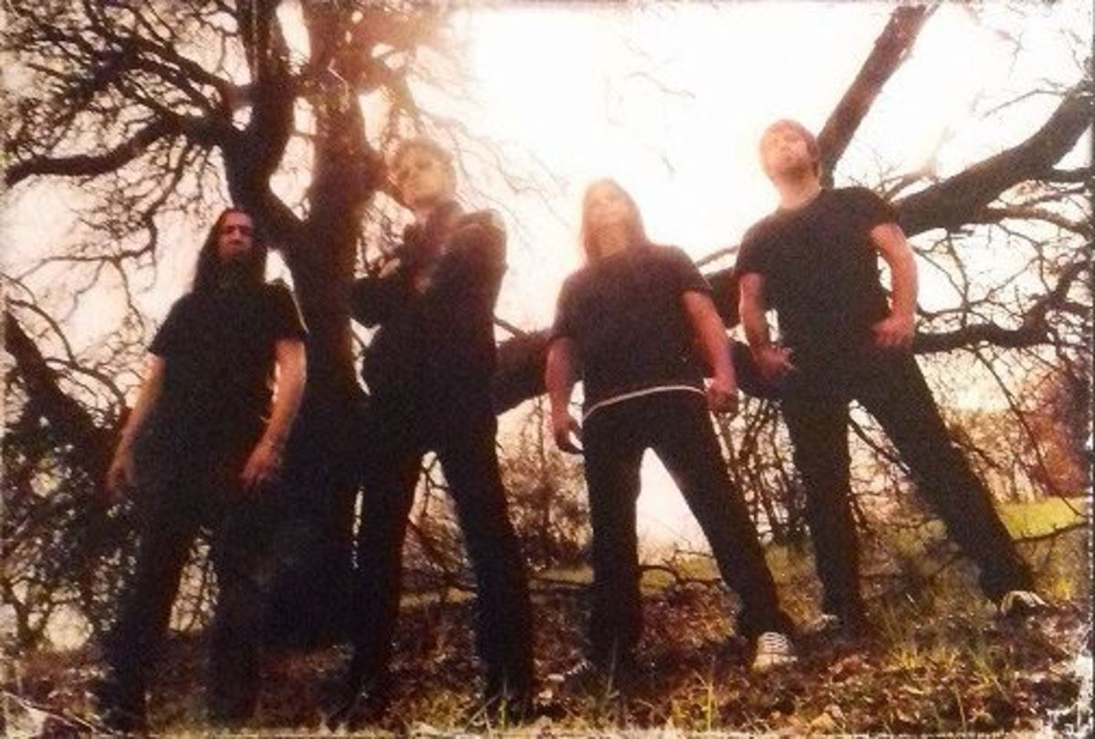 L-R: Jesus Mendez Jr (drums), Jason Newsted (bass/vox), Mike Mushok (guitar), Jesse Farnsworth (guitars)
