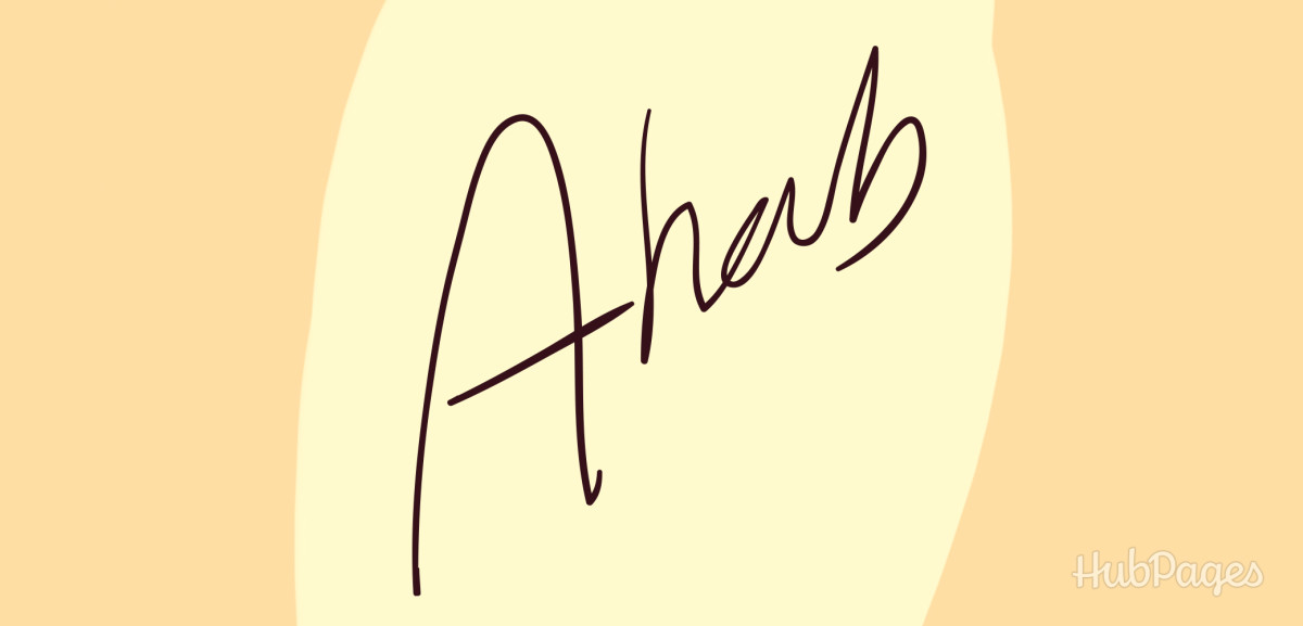 Signature of first name only