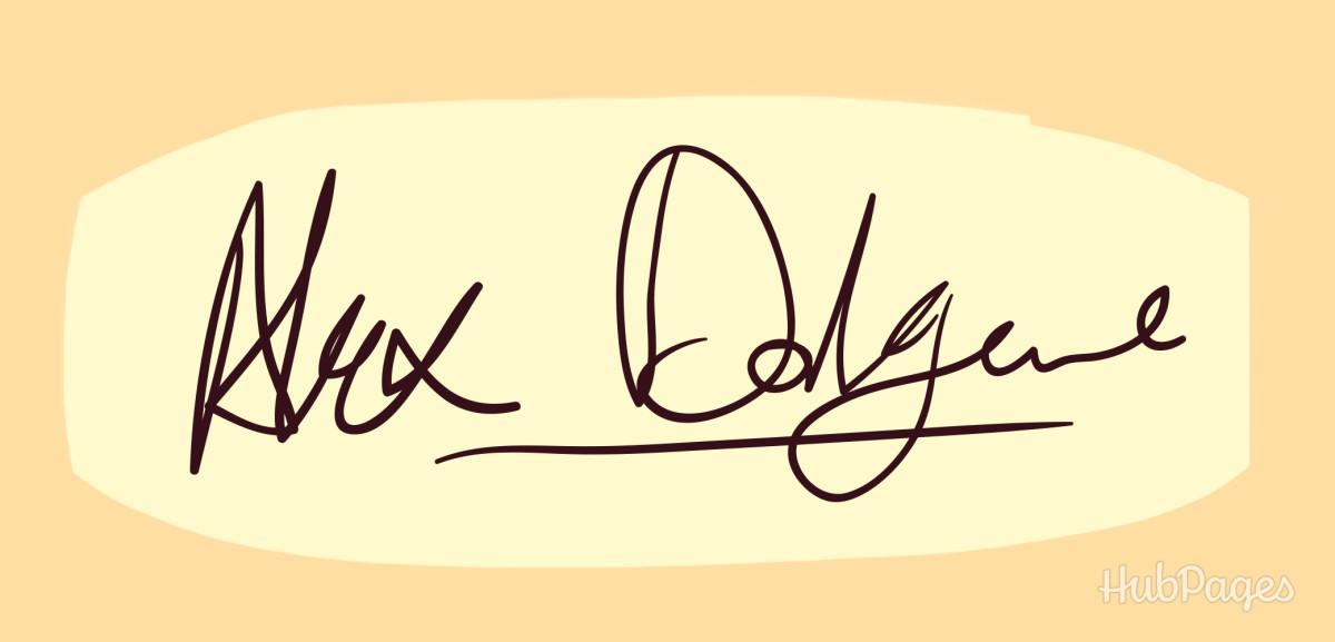 Underlined signature